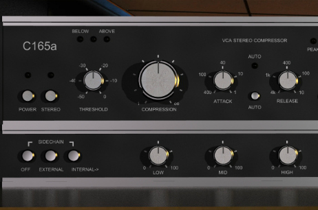 Drum Bus Compression with C165a