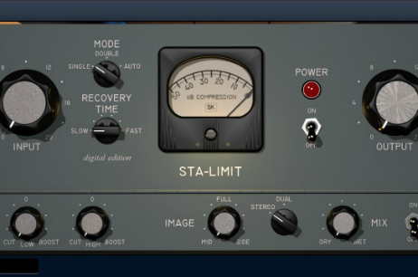 Pounding trance bass with STA-limit