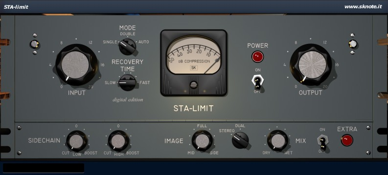 STA-limit – Unique vintage tube compression