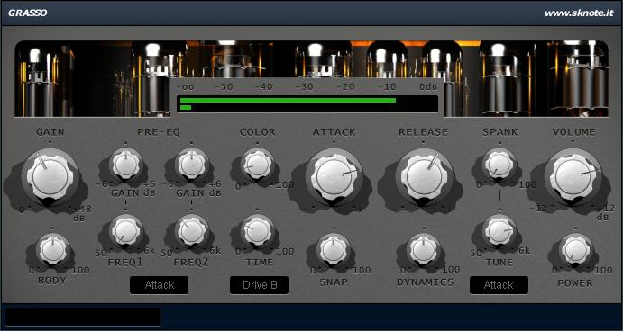 Processing Industrial Drums with Grasso