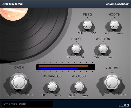 Cuttertone – Vinyl cutting pre-processor – Mastering effect or mixing tool.