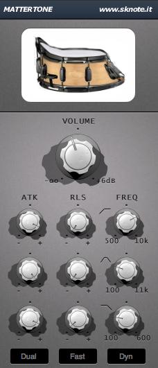 Electronic Drums Mattertone Interface