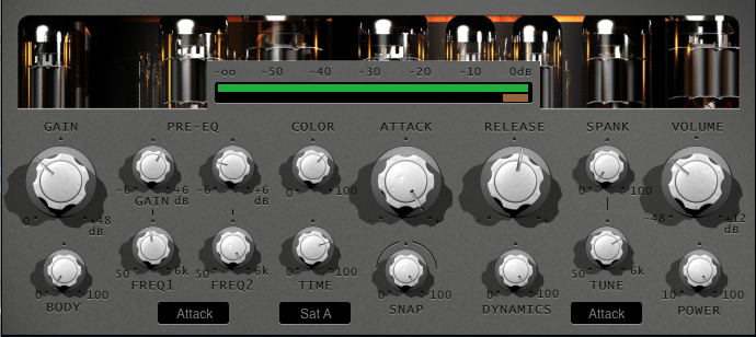 Grasso Metal Drums Interface