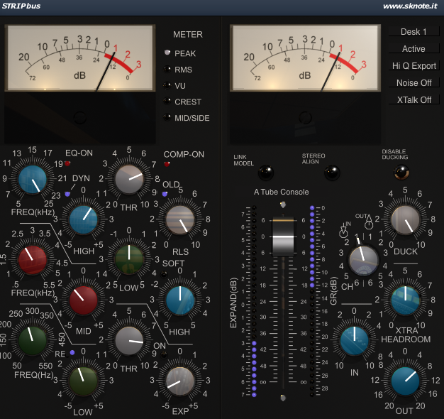 Strip V3 Vocals Interface