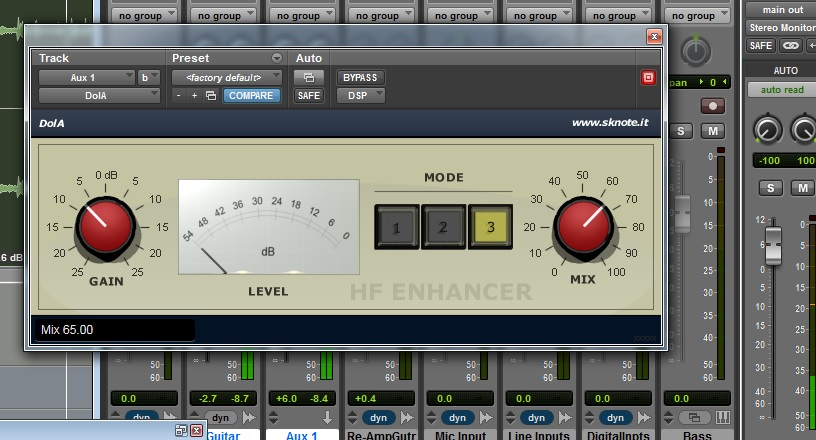 DolA VST/AU/AAX-DSP – An old secret trick, get air for your tracks.