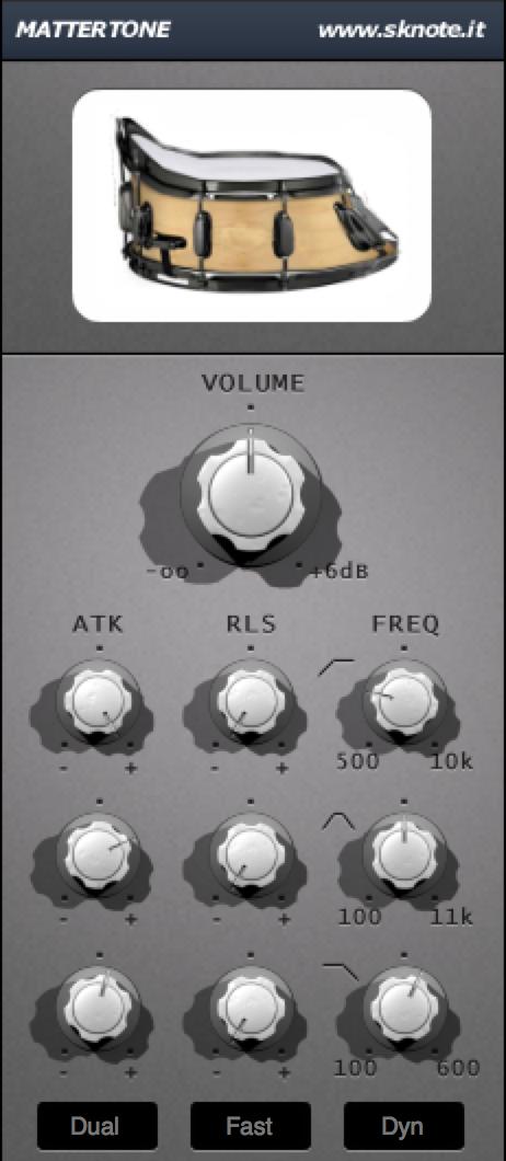 Mattertone Electro Beat Interface