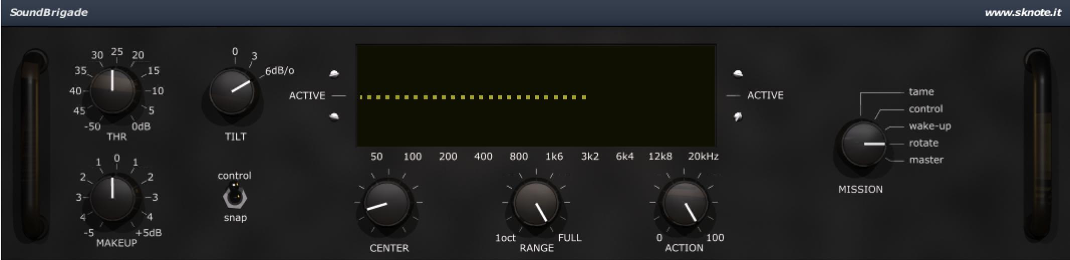 SoundBrigade Electro Beat Interface
