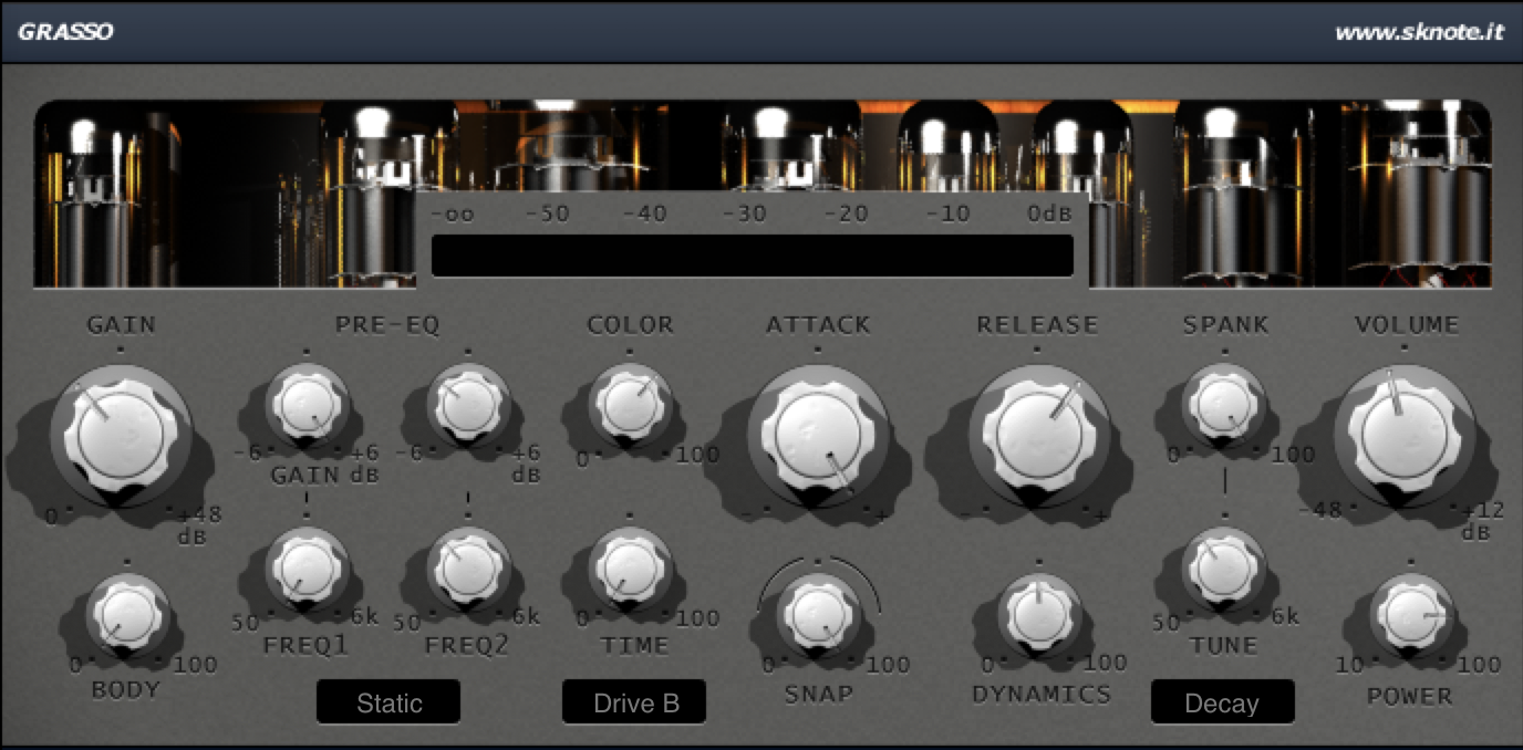 Grasso Industrial Drums Interface