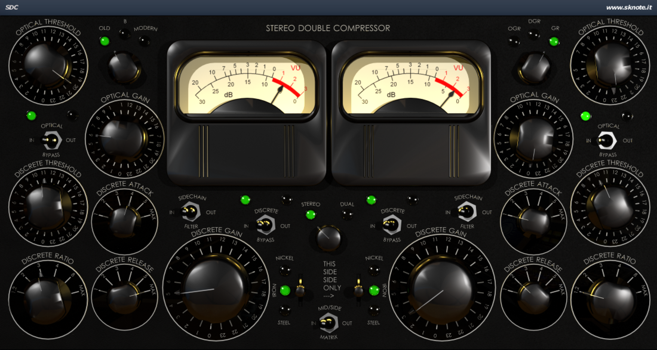 SDC MS Mastering Trance Interface