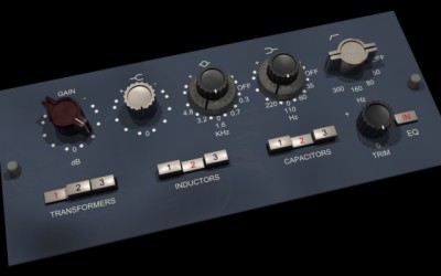 "Marconi1 – Discrete ""73"" Preamplifier and Equaliser – Hands on components."