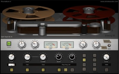 Roundtone 4 – Tape machines, from detailed control to abuse.