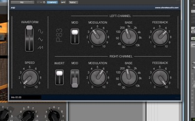 P83 – A big studio phaser from the past