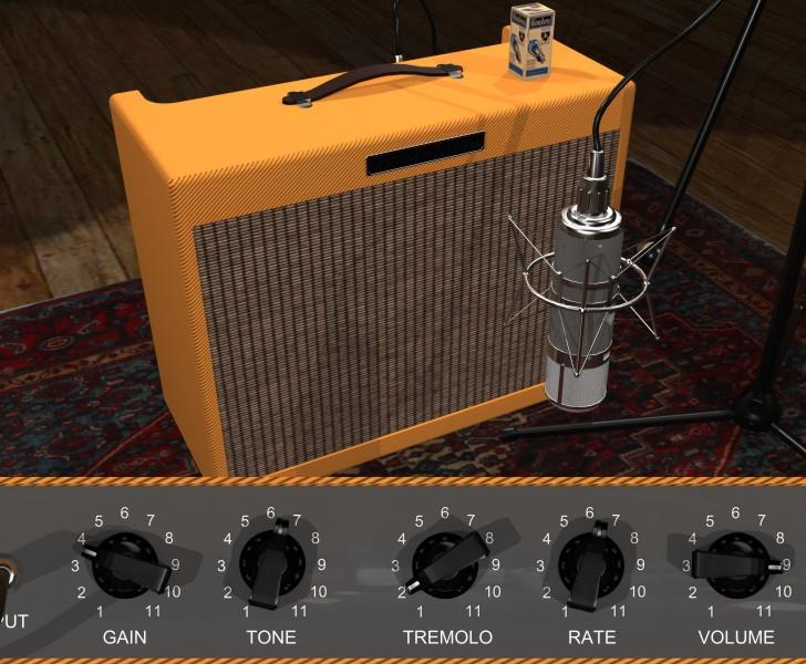 Deluxe1 – A carefully hand-crafted model of a classic vintage guitar tube amplifier.
