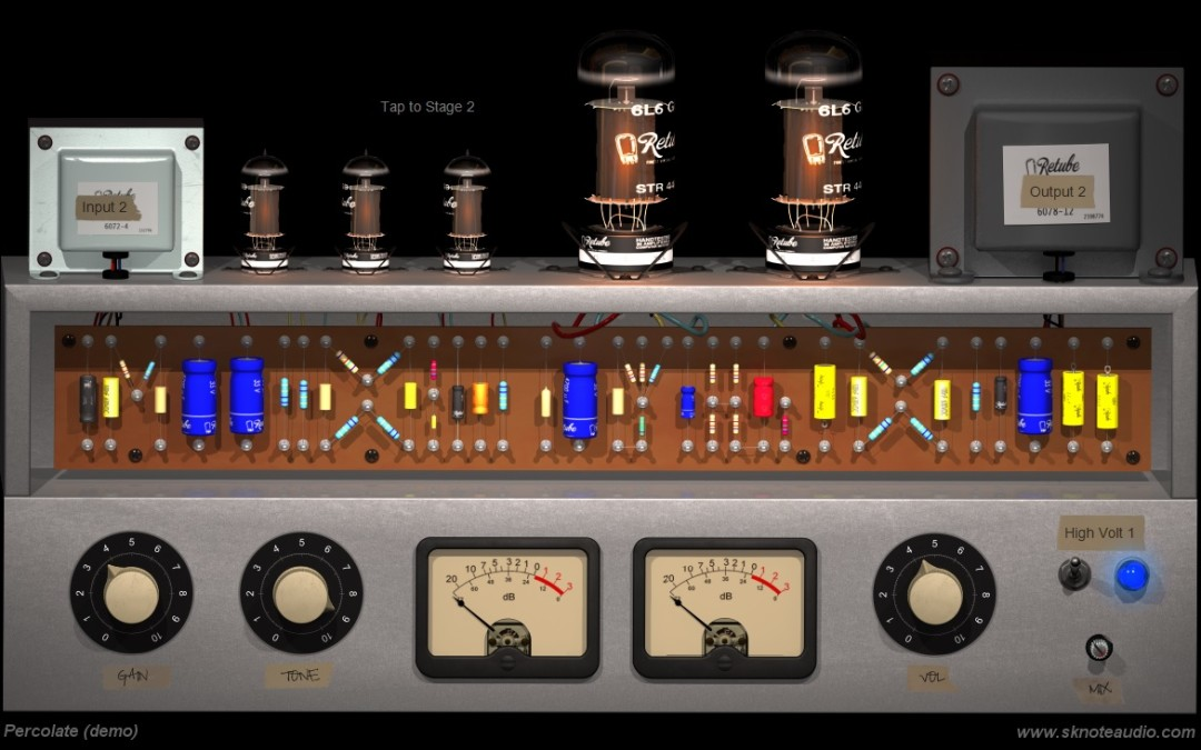 Percolate – Stereo Tube Circuits at the deepest level.