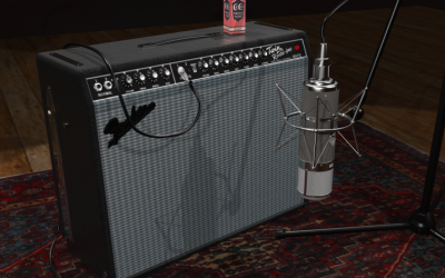 TwinR Guitar Amplifier – From clean to overdriven, the classic one.