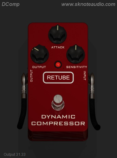 DComp – A model of a classic Guitar compressor.