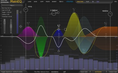 MainEQ – A modern EQ with unique, powerful features.
