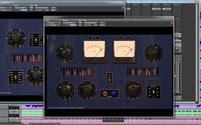 ProStudioLive series – PSLTubeComp. An aggressive tube compressor full of attitude.