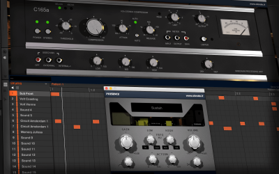 Mixing a Hip-Hop/Trap Beat with Exciter and Compressor