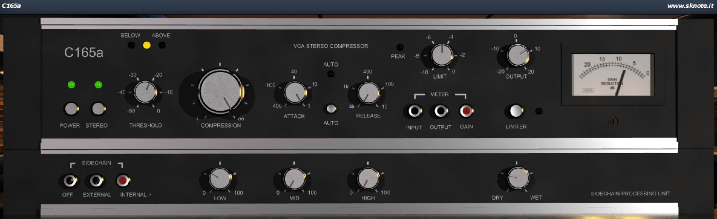 Using the C165a compressor to mix a Hip-Hop and Trap beat