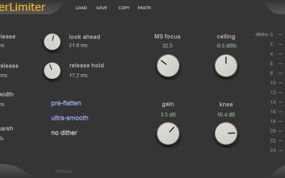 MasterLimiter – Mastering Brickwall Limiter and mastering tools.